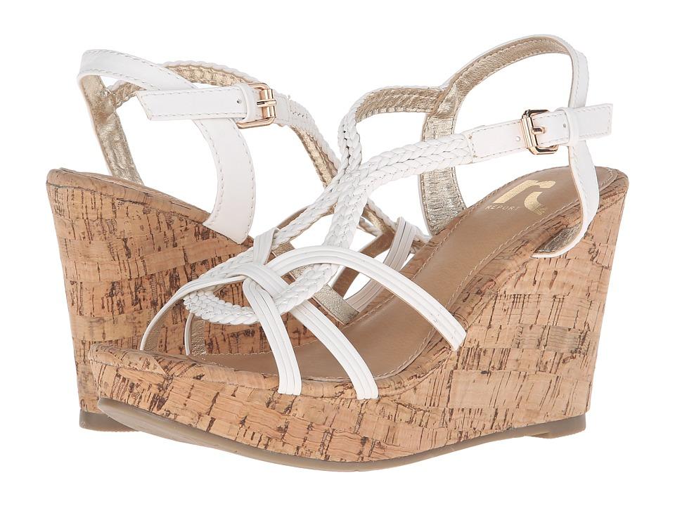 Report - Kevyn (White) Women's Shoes