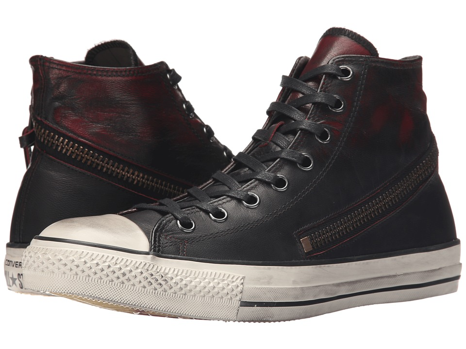 Converse by John Varvatos - Chuck Taylor All Star Tornado Zip (Black/Red) Men's Shoes