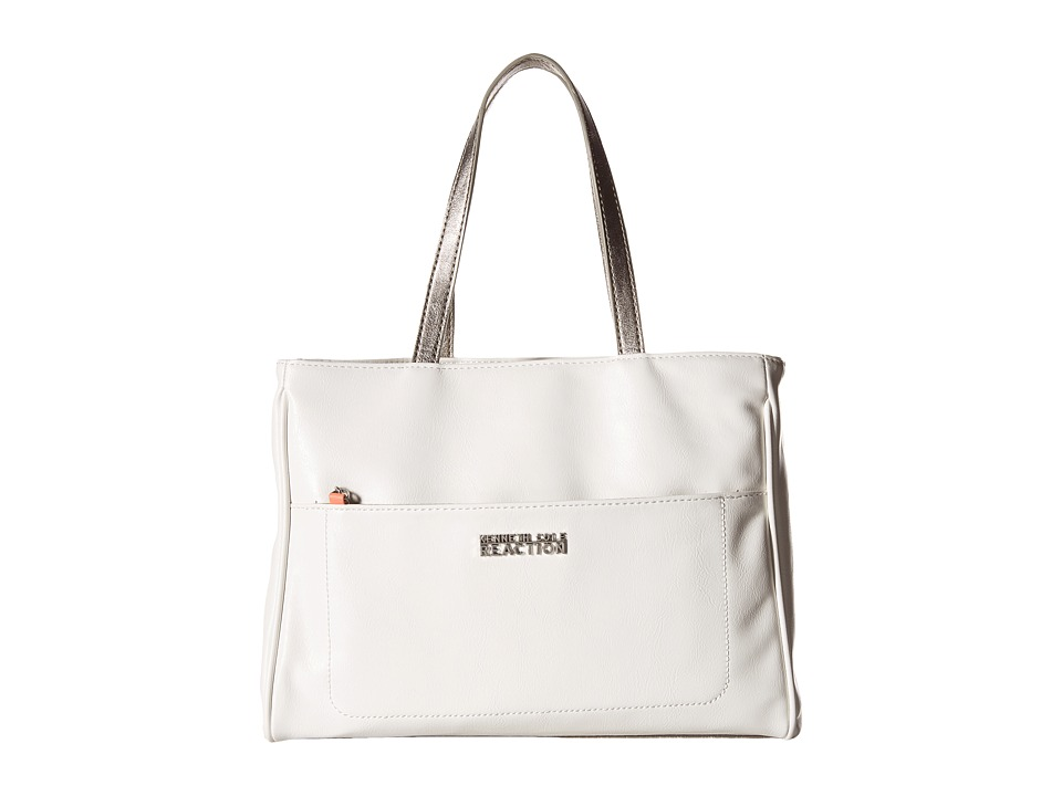 Kenneth Cole Reaction - Roo Satchel (White) Satchel Handbags