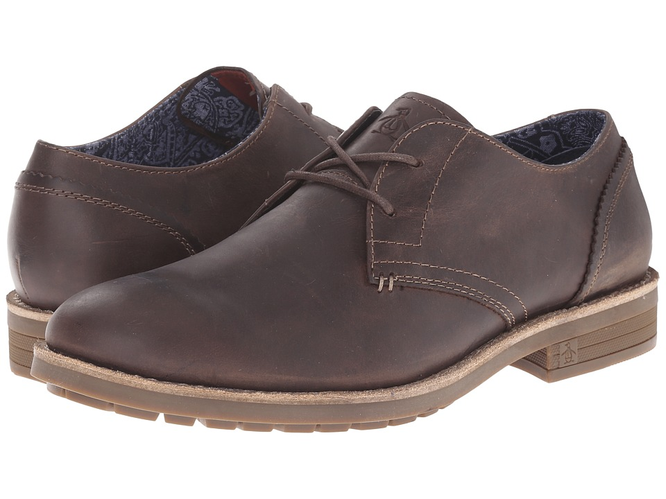 Original Penguin - Lugger (Brown) Men's Shoes