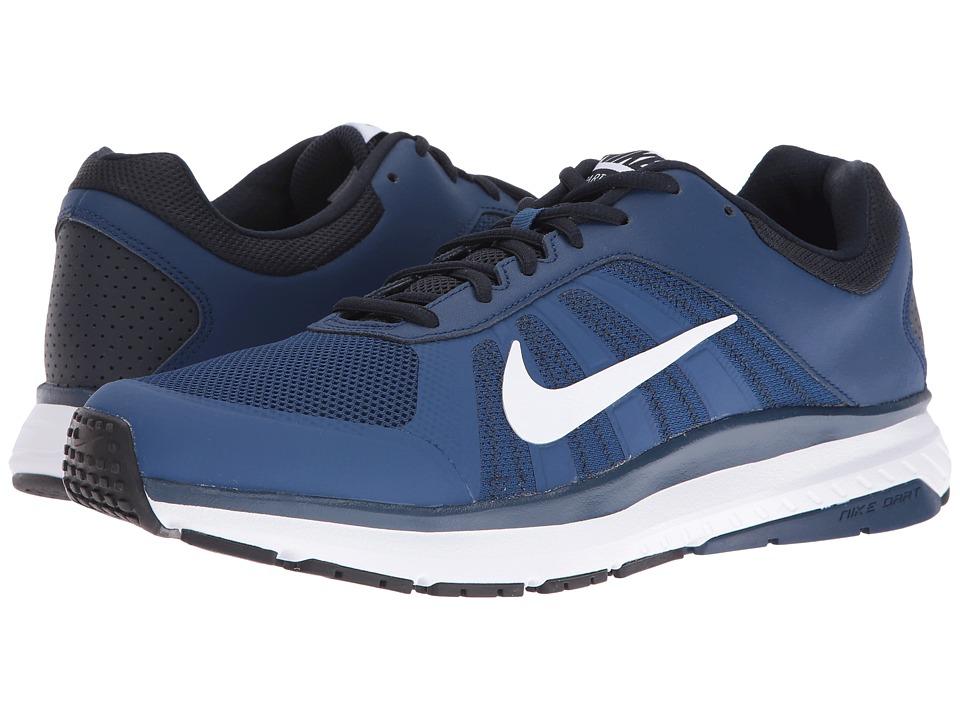 Nike - Dart 12 (Coastal Blue/White/Dark Obsidian/White) Men's Running Shoes