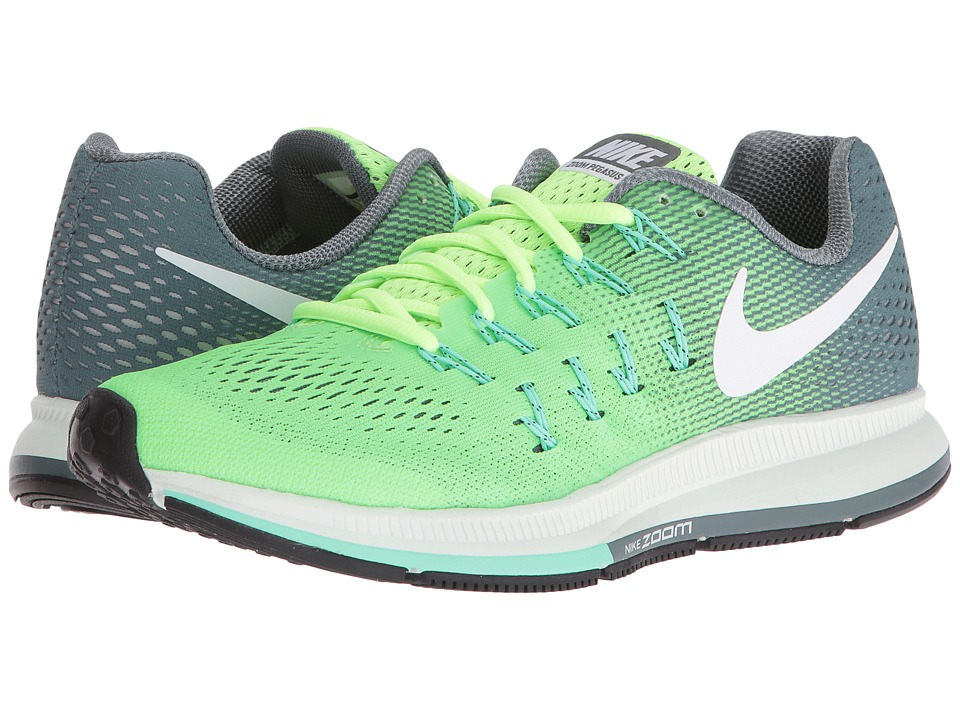 Nike - Air Zoom Pegasus 33 (Ghost Green/Hasta/Green Glow/White) Women's Running Shoes