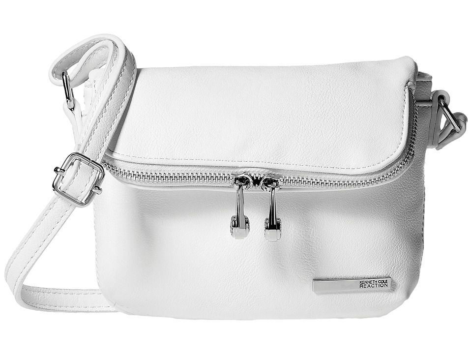 Kenneth Cole Reaction - Wooster Street Foldover Flap Minibag (Milk) Handbags