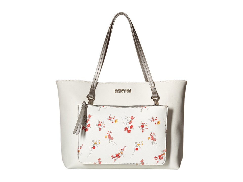 Kenneth Cole Reaction - Dynamo Floral Shopper (Dark Floral) Bags