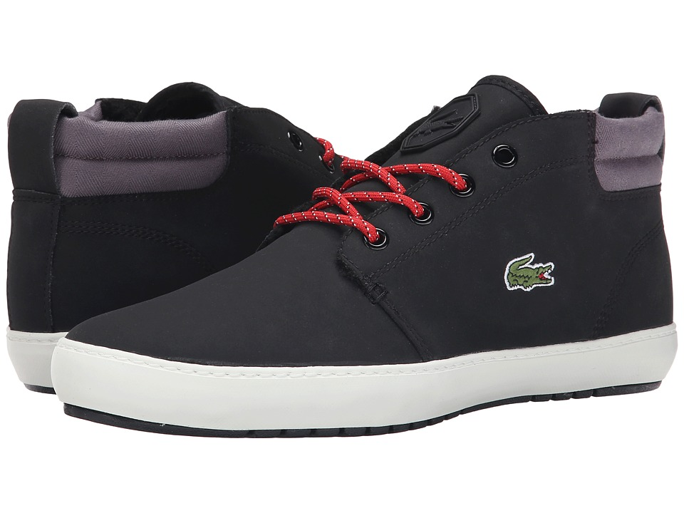 Lacoste - Ampthill Terra SNM SPM (Black/Black) Men's Shoes