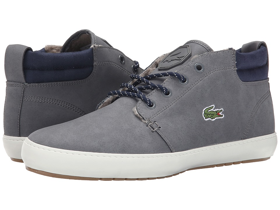 Lacoste - Ampthill Terra SNM SPM (Dark Grey/Dark Grey) Men's Shoes