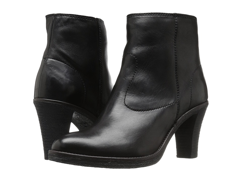 Johnston & Murphy - Janna (Black Glove Leather) Women's Boots