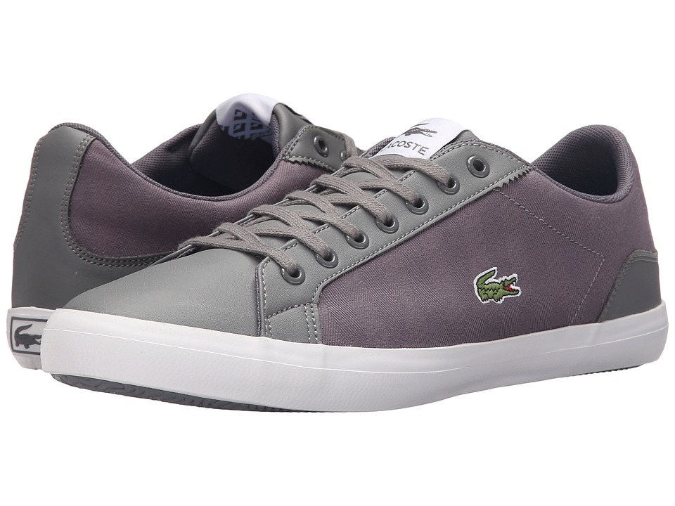 Lacoste - Lerond SNM SPM (Dark Grey/Dark Grey) Men's Shoes