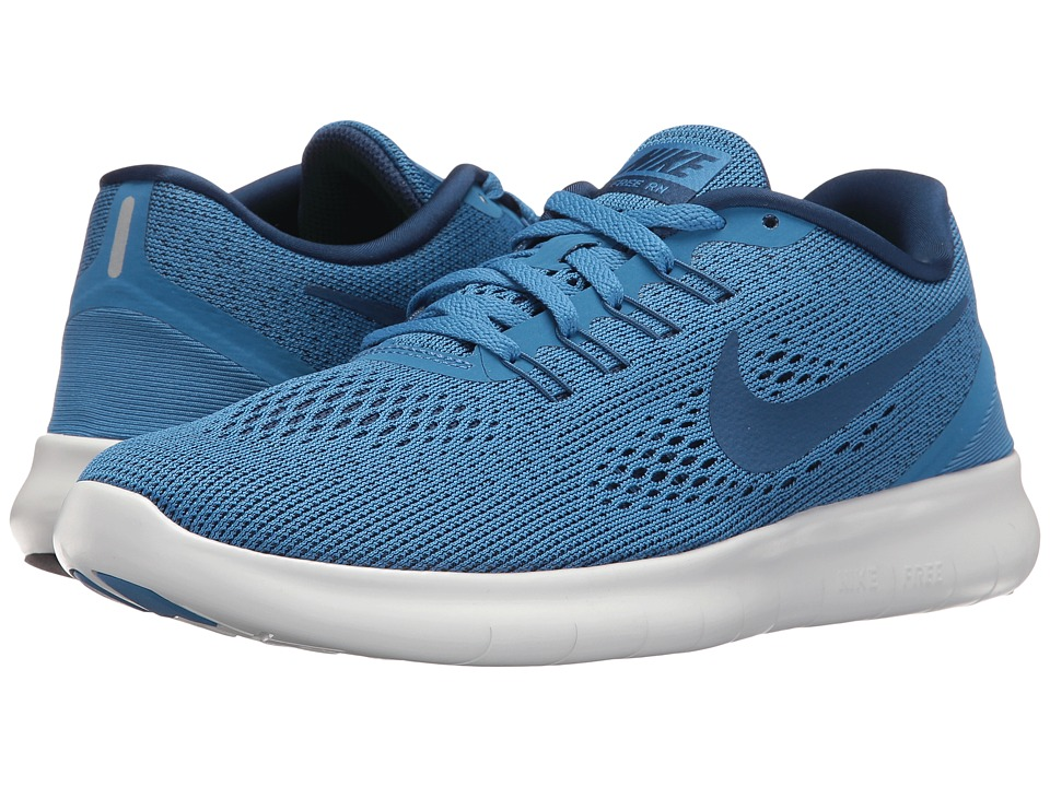 Nike - Free RN (Star Blue/Off-White/Coastal Blue) Women's Running Shoes