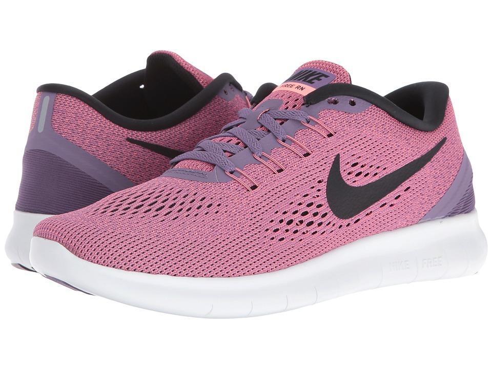 Nike - Free RN (Canyon Purple/Lava Glow/Work Blue/Black) Women's Running Shoes