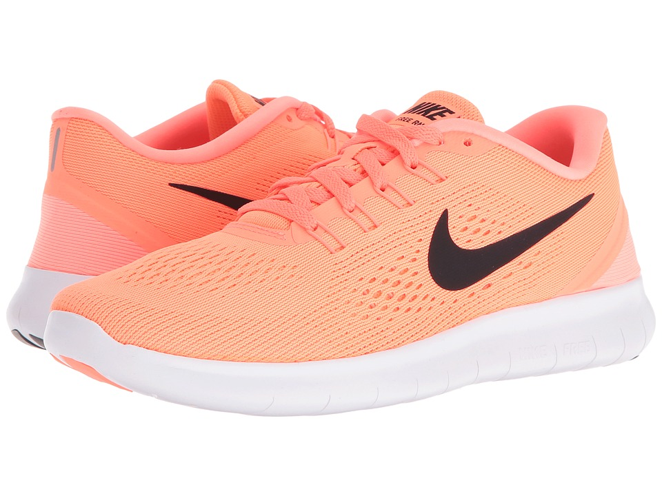 Nike - Free RN (Bright Mango/Sunset Glow/White/Black) Women's Running Shoes