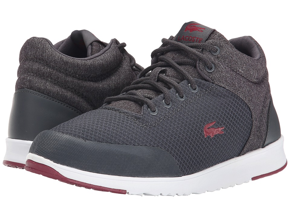 Lacoste - Tarru-Light Put SCM (Dark Grey/Burgundy) Men's Shoes