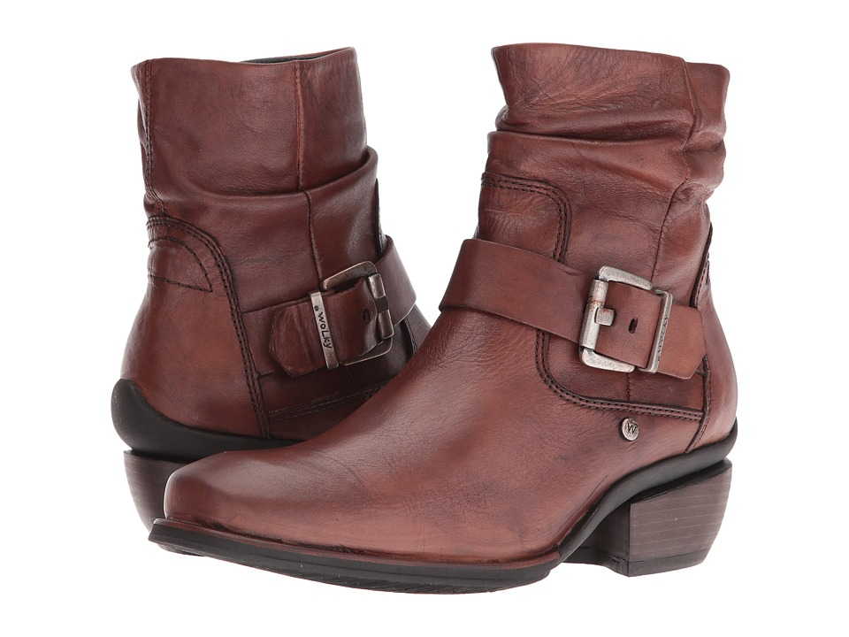 Wolky - Koppen (Cognac Mighty Greased) Women's Pull-on Boots