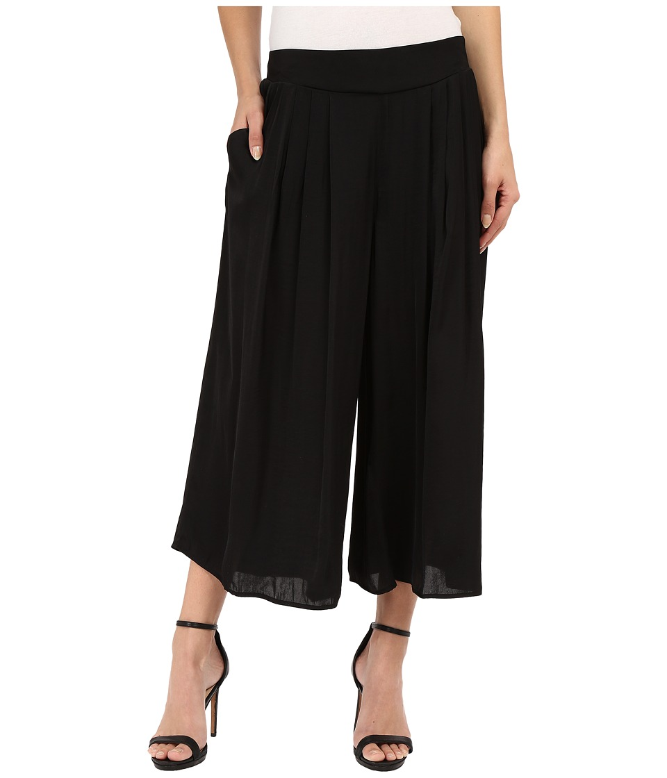 Vince Camuto - Rumple Culottes (Rich Black) Women's Casual Pants