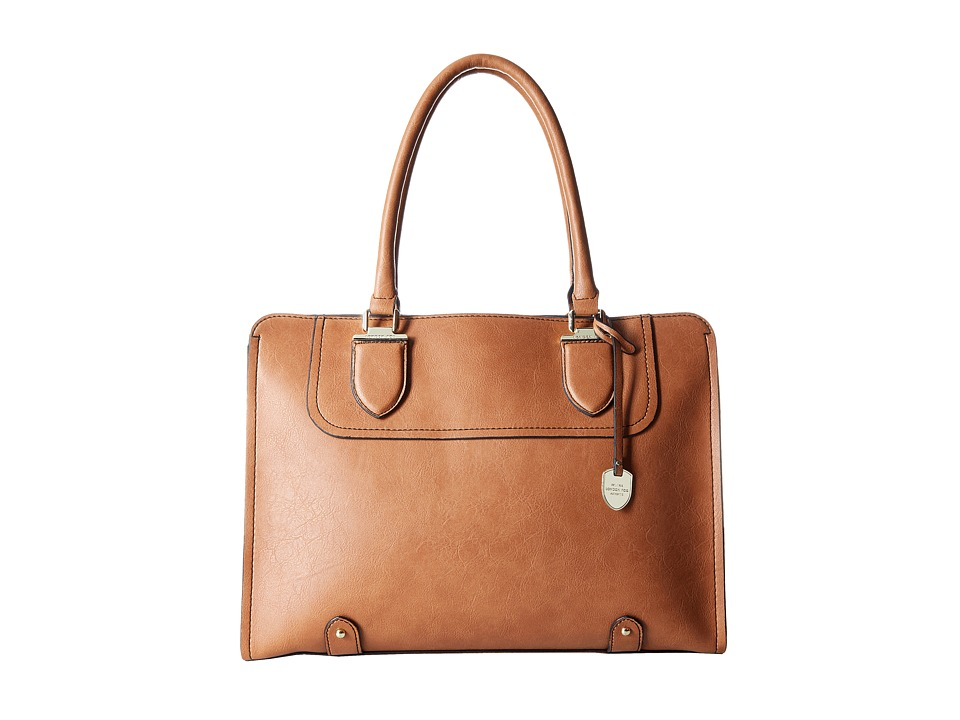 London Fog - Kensington Tote (Cognac) Tote Handbags