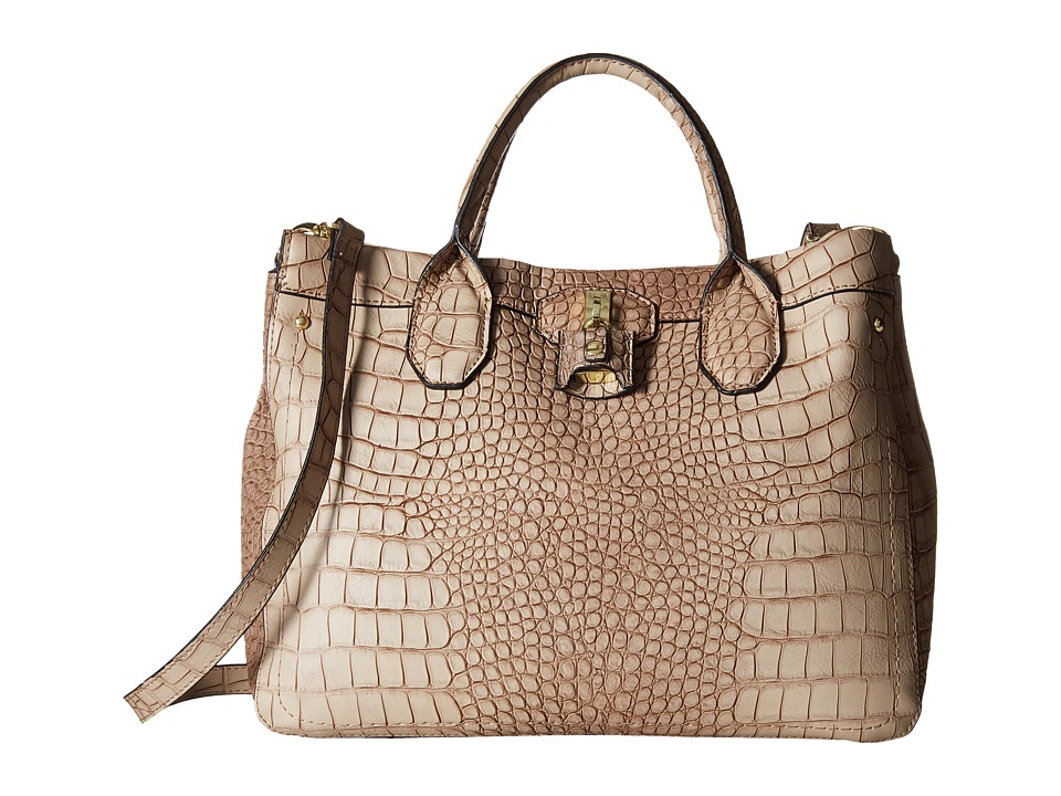 London Fog - Windsor Shopper (Taupe Croco) Tote Handbags