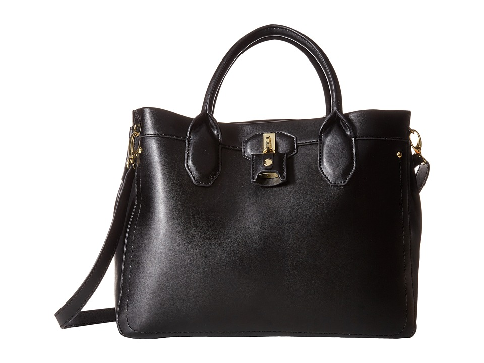 London Fog - Windsor Shopper (Black) Tote Handbags