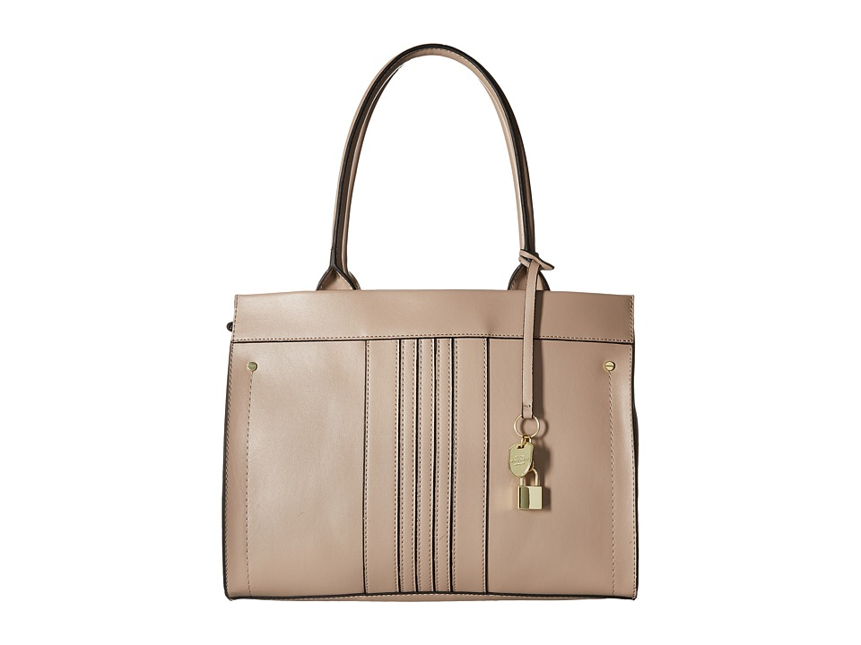 London Fog - York Tote (Taupe) Tote Handbags
