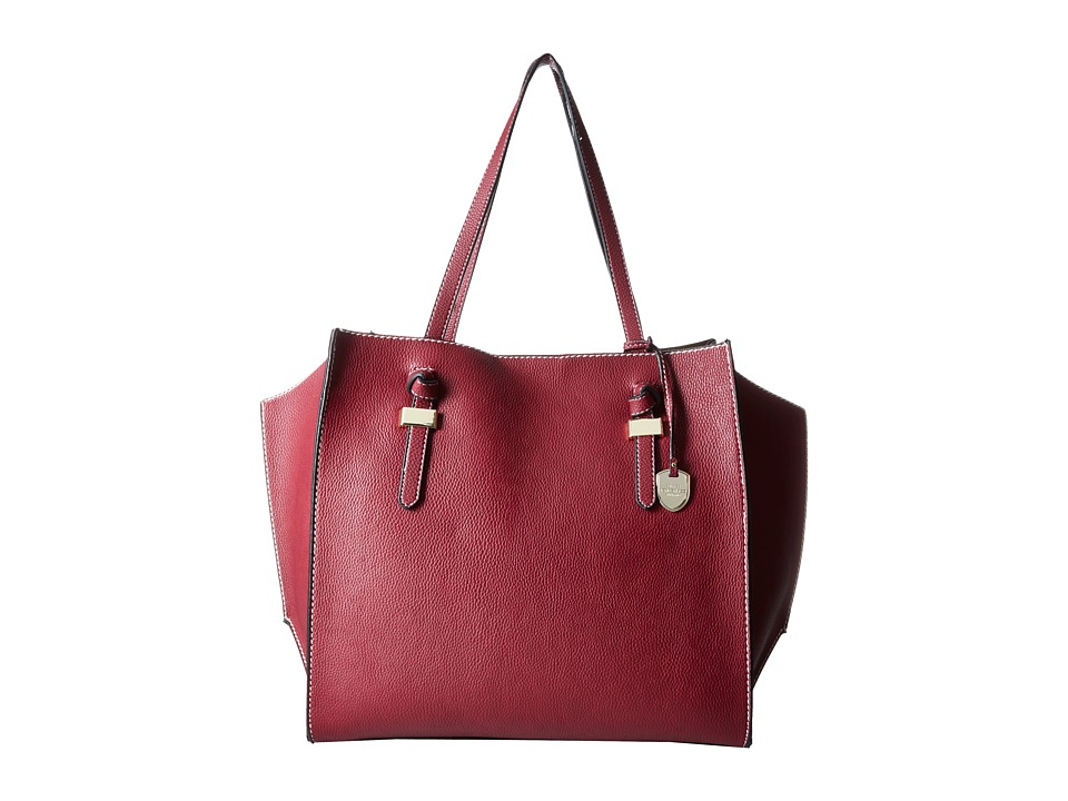 London Fog - Everton Tote (Cranberry) Tote Handbags