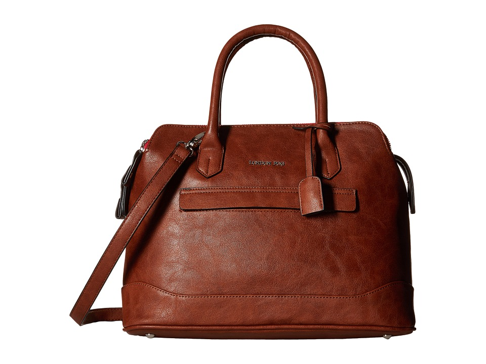 London Fog - Preston Triple (Russet) Handbags