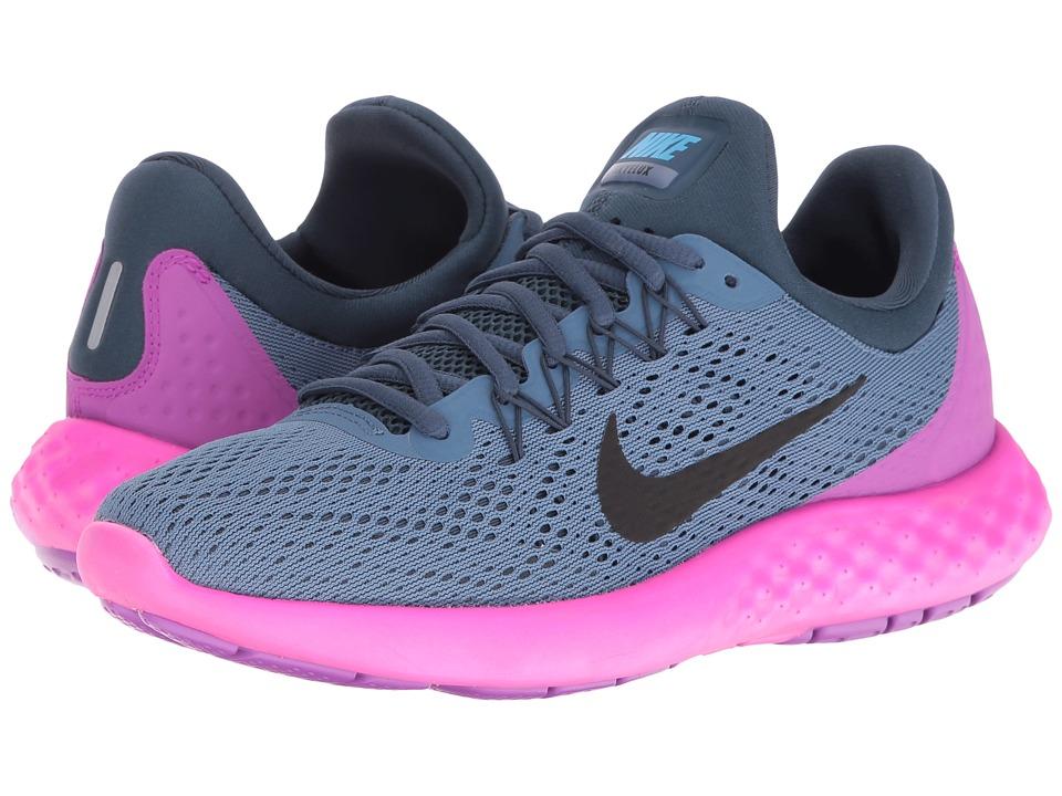 Nike - Lunar Skyelux (Ocean Fog/Squadron Blue/Hyper Violet/Black) Women's Shoes