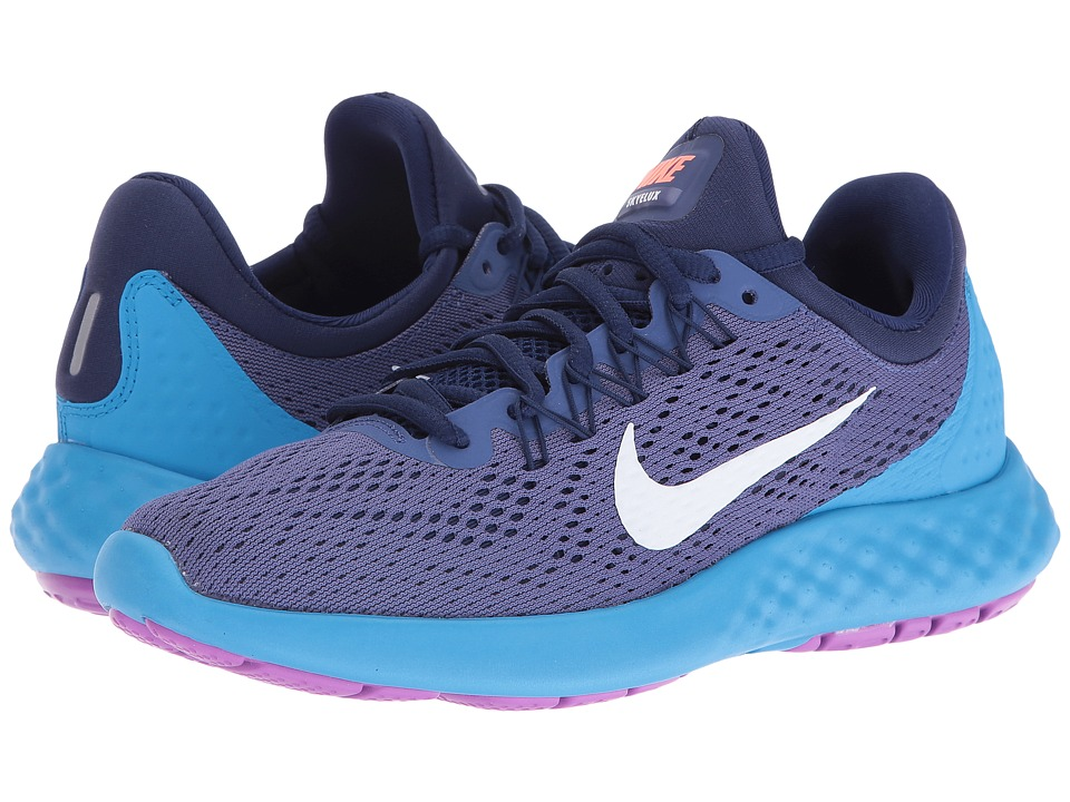 Nike - Lunar Skyelux (Dark Purple Dust/Loyal Blue/Blue Glow/White) Women's Shoes