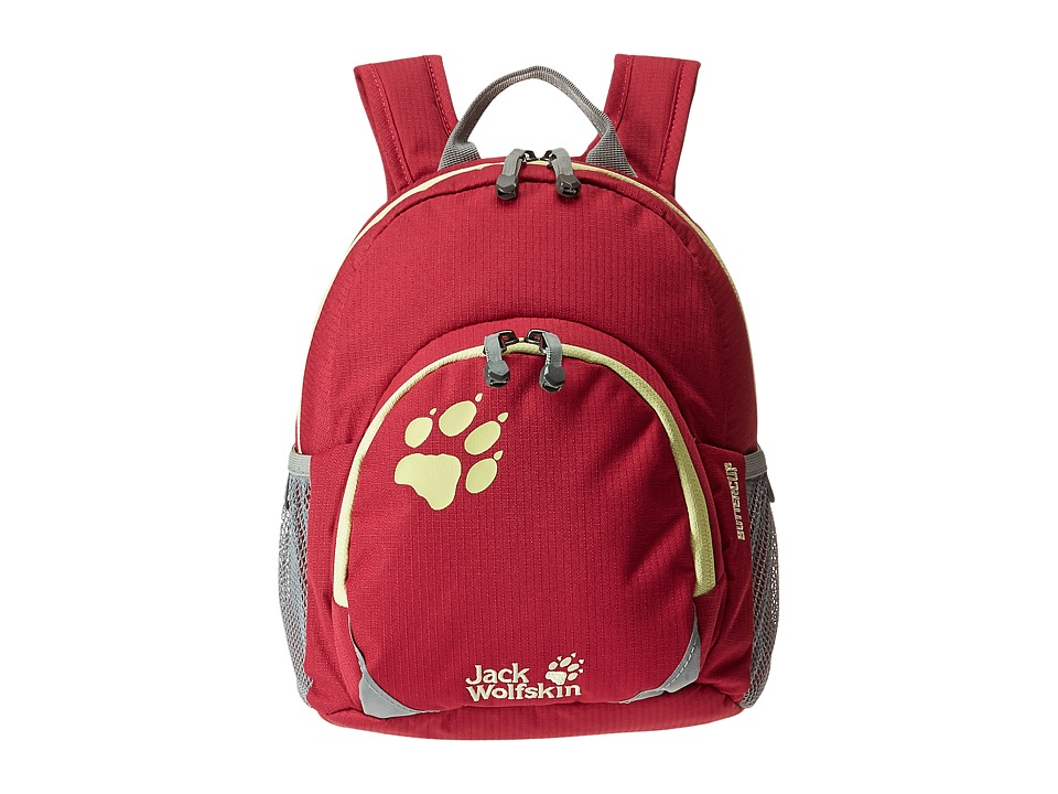 Jack Wolfskin - Buttercup (Kids) (Azalea Red) Backpack Bags