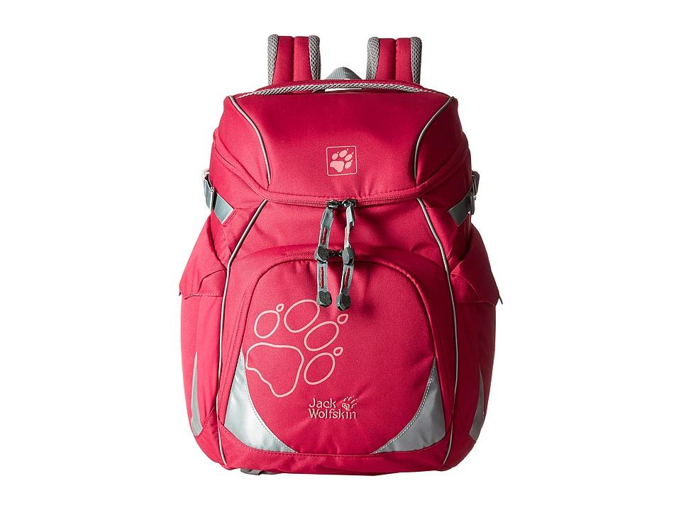 Jack Wolfskin - Classmate (Kids) (Azalea Red) Backpack Bags