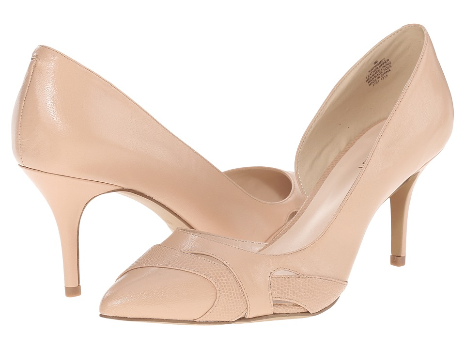 Nine West - Kismet (Natural/Medium Natural Leather) High Heels