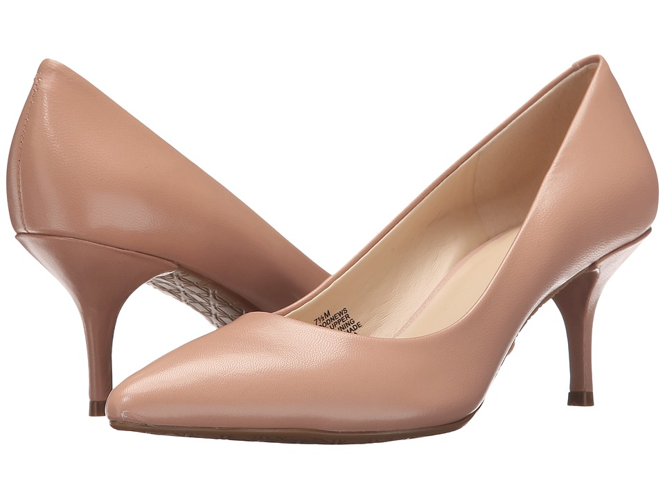 Nine West - Good News (Pink Leather) Women's Shoes