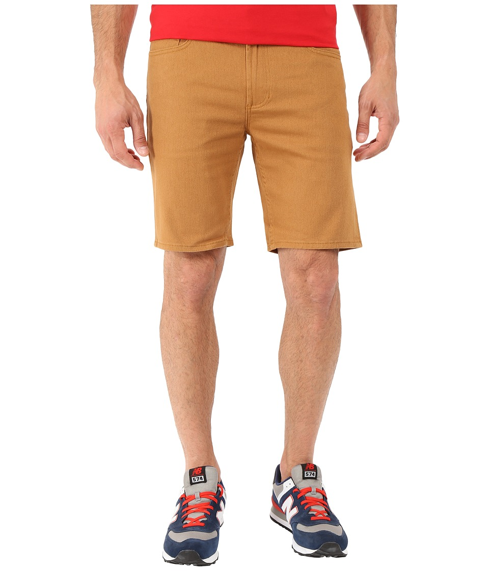 Obey - New Threat Twill Shorts II (Bone Brown) Men's Shorts