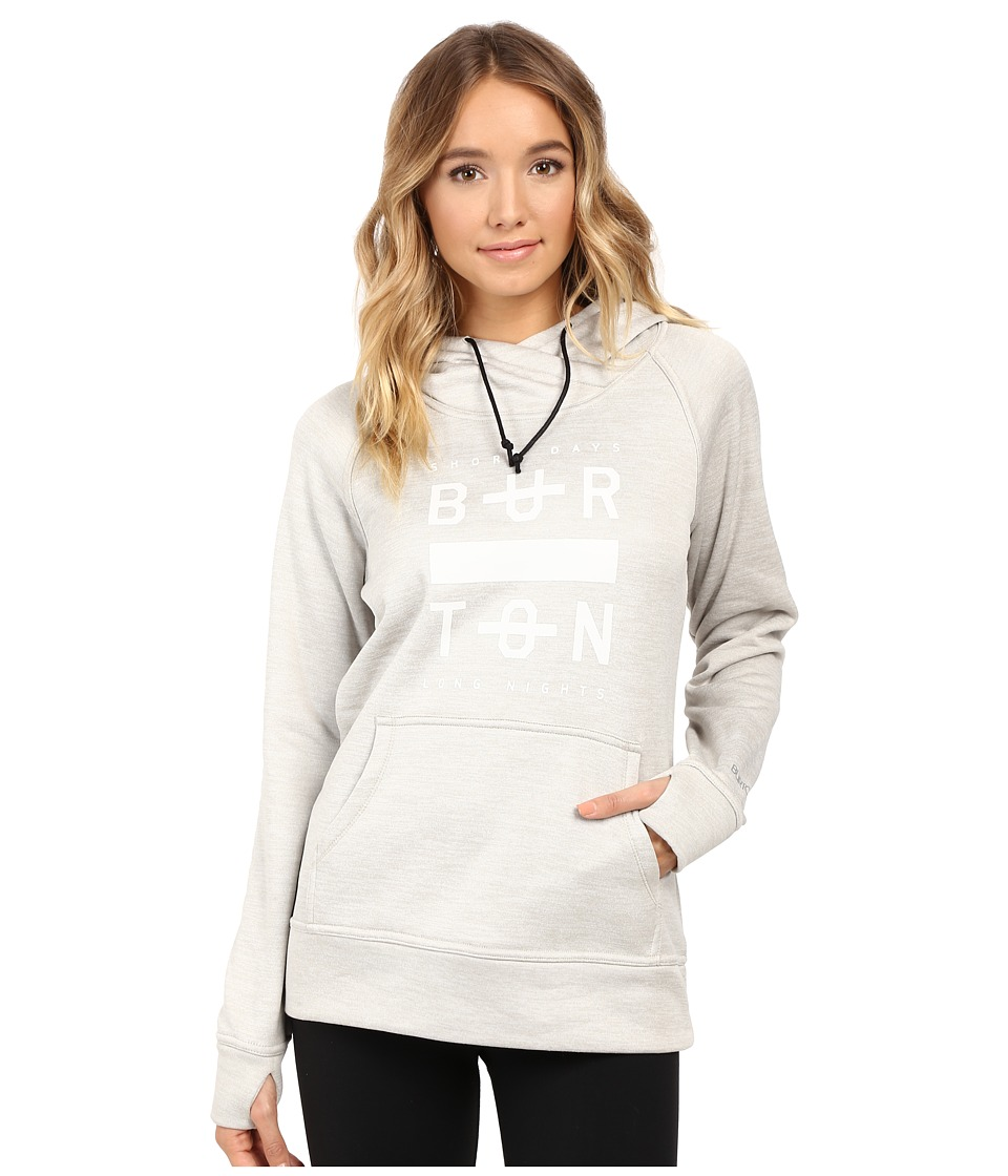 Burton - Quartz Pullover (Dove Heather) Women's Sweatshirt