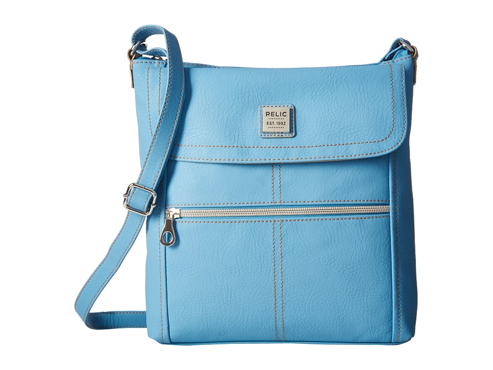 Relic - Erica Flap Crossbody (Blue Sky) Cross Body Handbags
