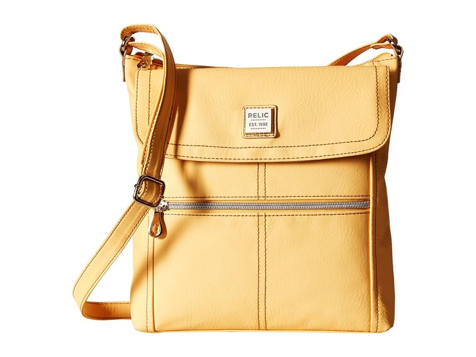 Relic - Erica Flap Crossbody (Sunshine) Cross Body Handbags