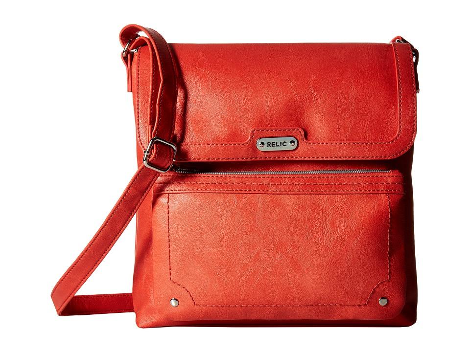 Relic - Evie Flap Crossbody (Burnt Henna) Cross Body Handbags