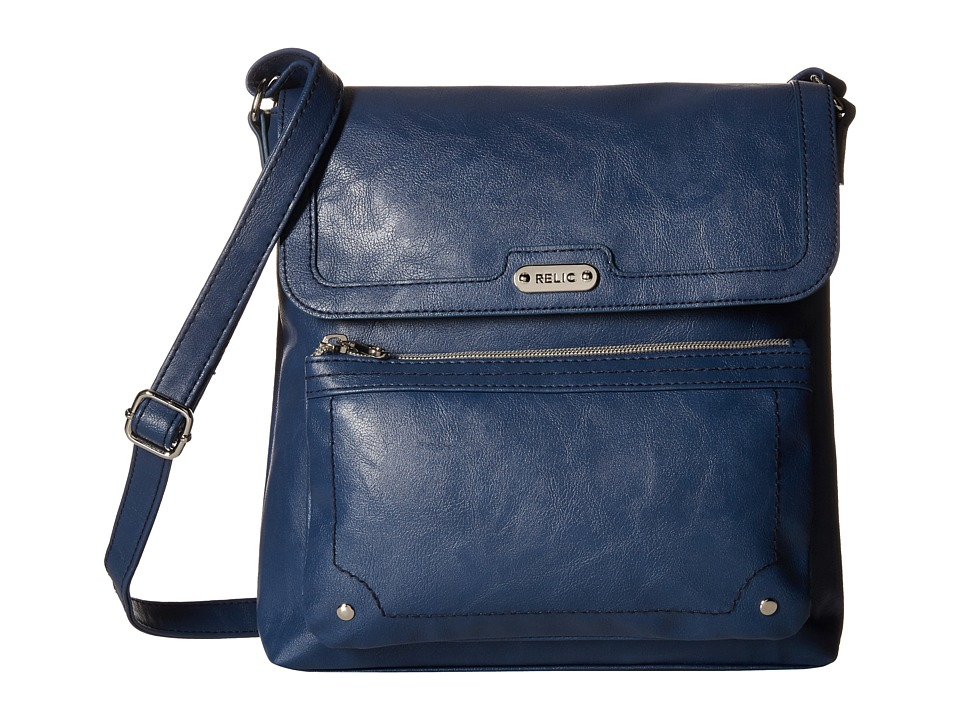 Relic - Evie Flap Crossbody (Insignia Blue) Cross Body Handbags