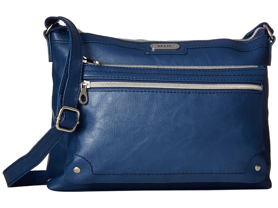 Relic - Evie East West Crossbody (Insignia Blue) Cross Body Handbags