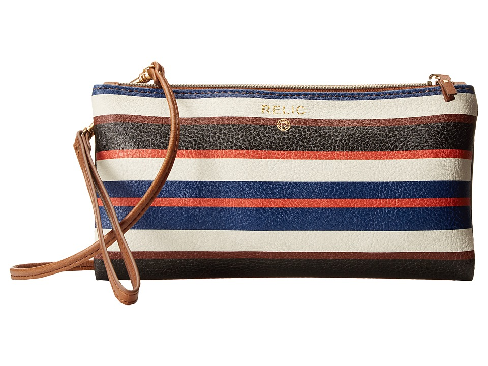 Relic - Emma Wristlet Crossbody (Stripe) Cross Body Handbags