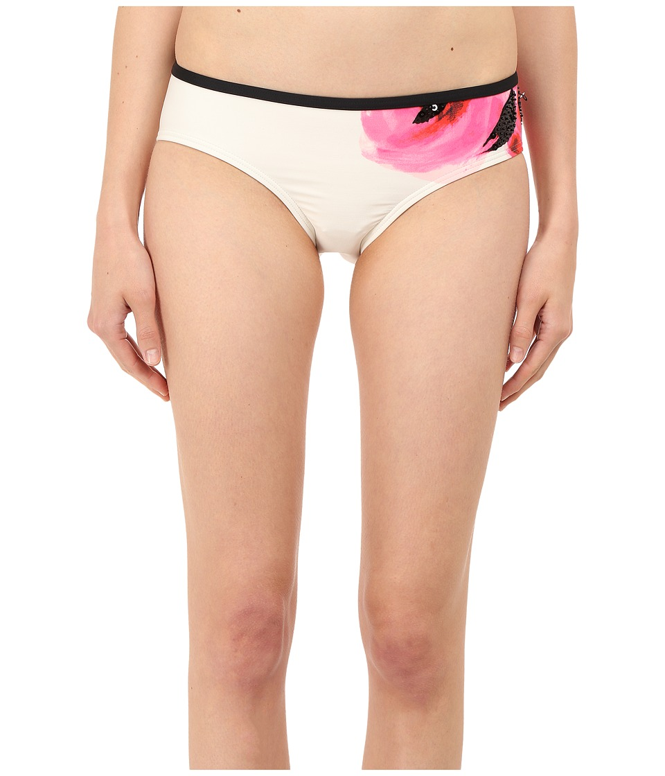 Kate Spade New York - Spring 17 Embellished Hipster Bottom (Cream) Women's Swimwear