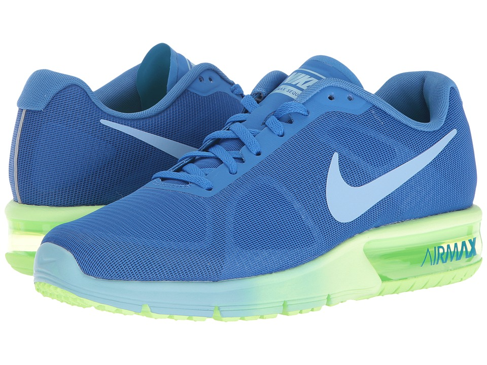 Nike - Air Max Sequent (Fountain Blue/Ghost Green/Bluecap) Women's Running Shoes