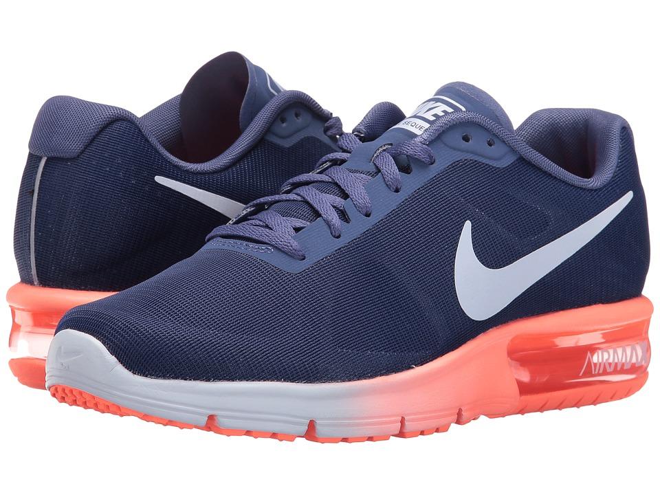 Nike - Air Max Sequent (Dark Purple Dust/Bright Mango/Palest Purple) Women's Running Shoes