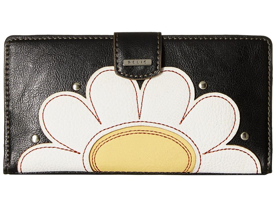 Relic - RFID Tab Checkbook (Flower) Checkbook Wallet