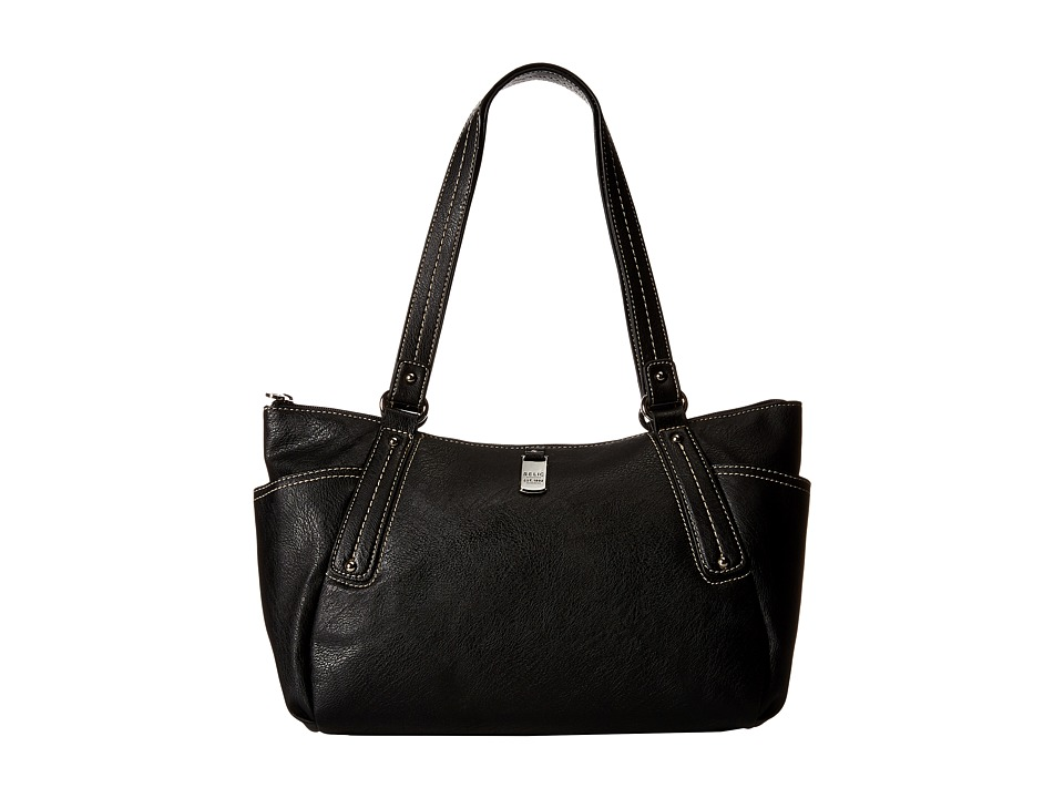 Relic - Jane Double Shoulder (Black) Shoulder Handbags