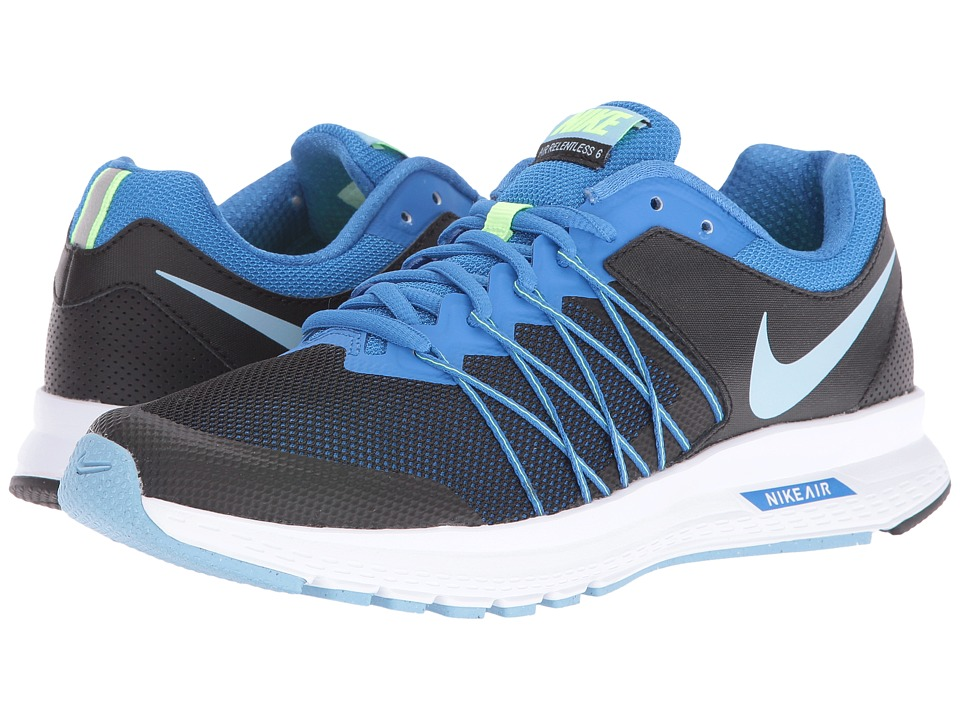 Nike - Air Relentless 6 (Black/Fountain Blue/Ghost Green/Bluecap) Women's Running Shoes