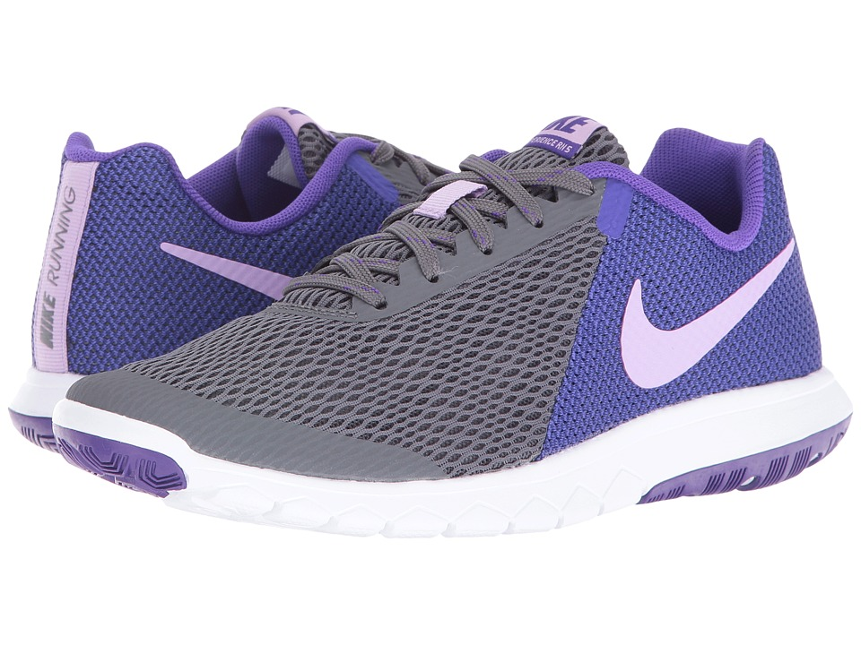 Nike - Flex Experience RN 5 (Dark Grey/Urban Lilac/Fierce Purple/White) Women's Running Shoes