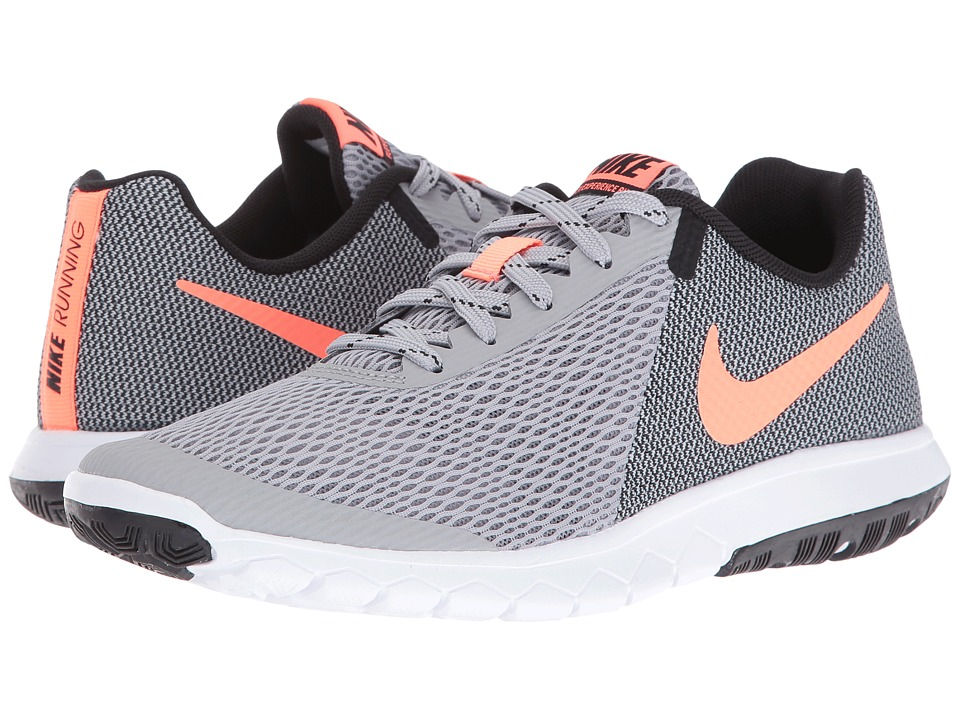 Nike - Flex Experience RN 5 (Wolf Grey/Bright Mango/Black/White) Women's Running Shoes