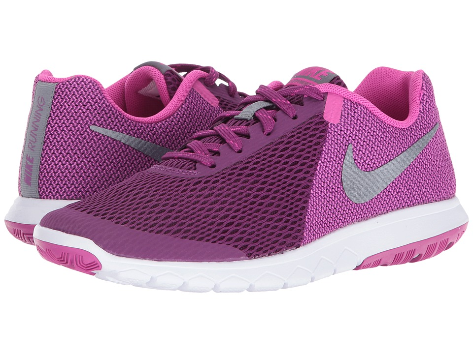 Nike - Flex Experience RN 5 (Bright Grape/Metallic Cool Grey/Fire Pink/White) Women's Running Shoes