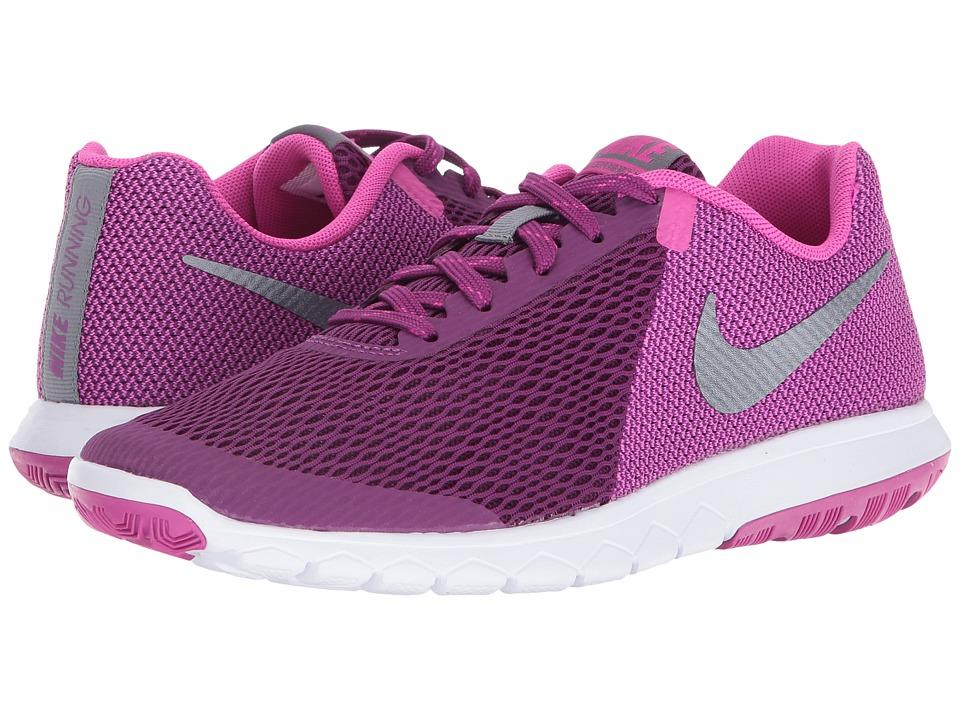 Nike - Flex Experience RN 5 (Bright Grape/Metallic Cool Grey/Fire Pink/White) Women's Running Shoes