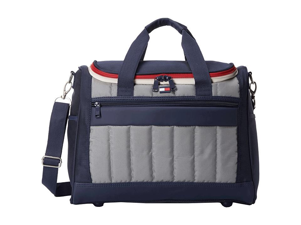 Tommy Hilfiger - 17 Sport Duffel (Navy/Grey) Duffel Bags