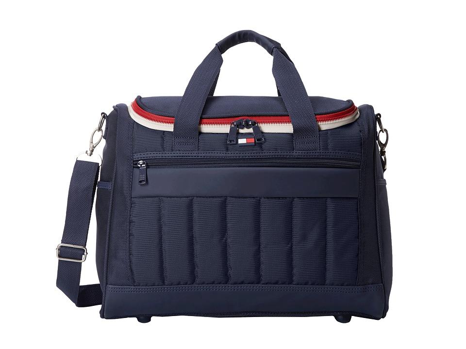 Tommy Hilfiger - 17 Sport Duffel (Navy/Navy) Duffel Bags